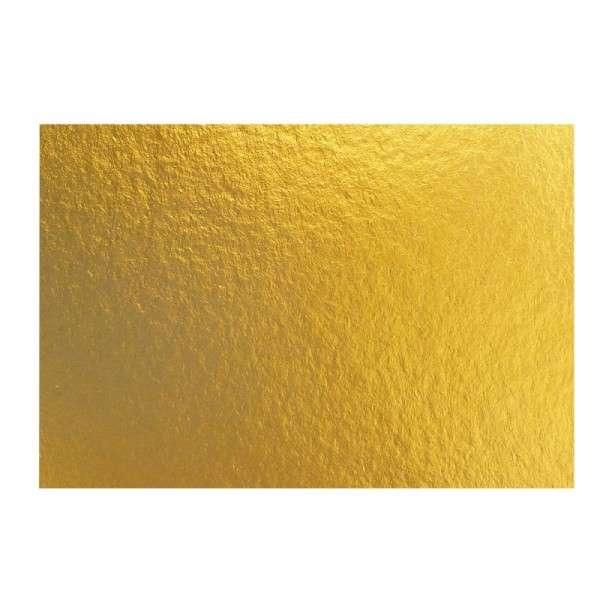 Goldpappen 3 mm, rechteckig 31x45 cm, 2 Stück