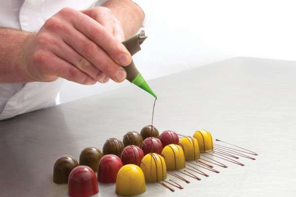 Sweetliner Spritzbeutel Set, klar, 10 Stück, 21 × 12 cm