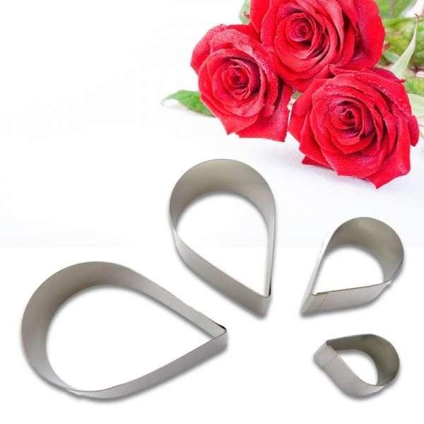Ausstecher Rosenblüte
