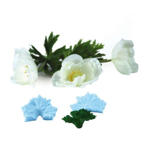 "Veiner ""Anemone"" Blatt ca. 6cm ( Sunflower,petal)"