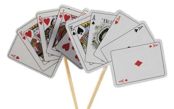 Tortendekoration Kartenspiel Motivtorten Dekoration