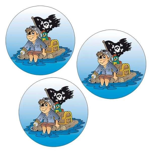 Esspapieraufleger lustiger Pirat 4cm