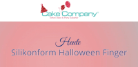 """Halloween Silikonform """"Finger"""""""