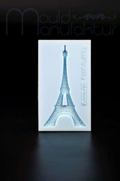 Silikonform Eiffelturm 11,1 x 6,5 x 1 cm