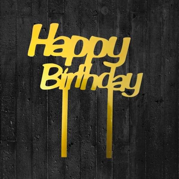 """Cake-Topper """"Happy Birthday"""""""