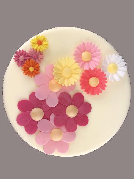 Esspapierblumen groß sortiert 12 Stück