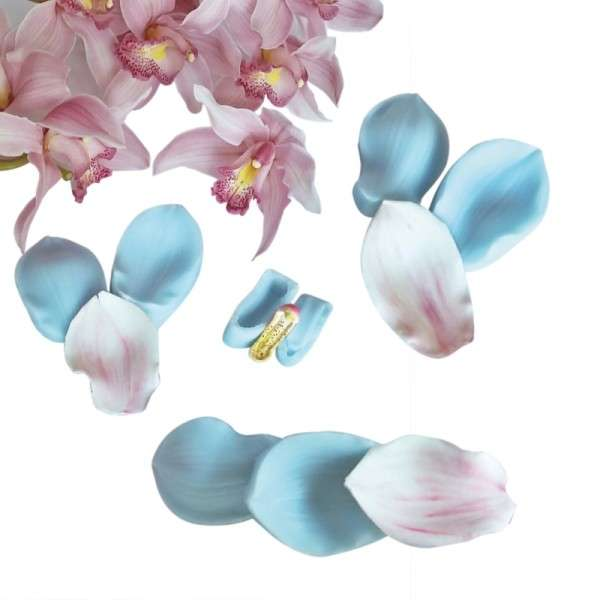 "Veiner ""Cymbidium Orchidee"" (Set mit Center ) 8-teilig"