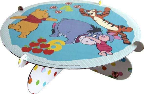 Tortenplatte Winnie Pooh beidseitig verwendbar