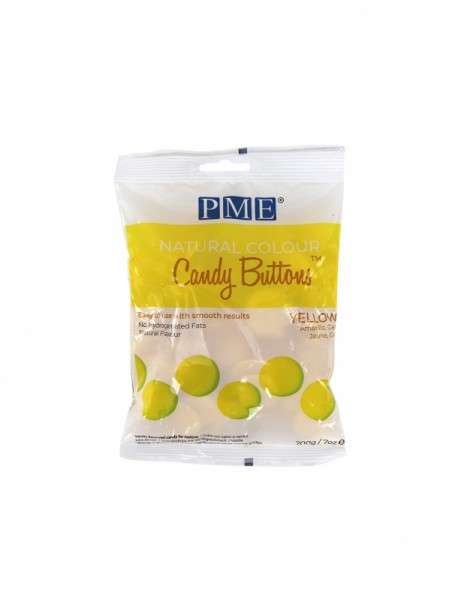 Candy Buttons Gelb
