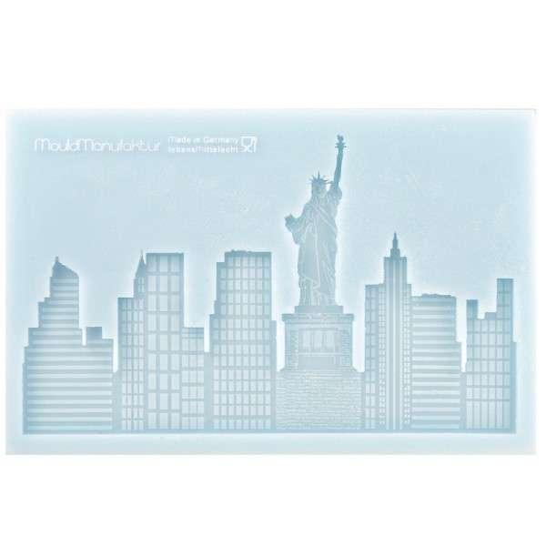 Silikonform Skyline New York 17,6 x 11,1 x 1cm