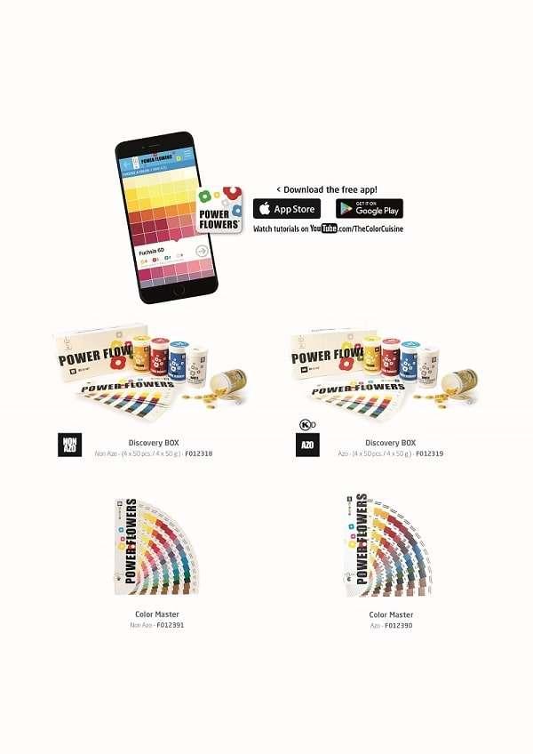 Power Flower Farben immer mit der App perfekt mischen