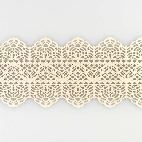 "Sweet lace-perlmutt ""Spitzenband"" 38x7,5cm essbare Spitze - fertig zum Gebrauch"