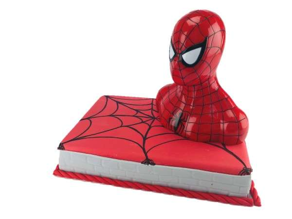 Tortendeko Spiderman Spardose