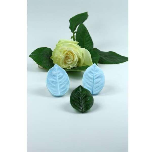"""Veiner """"Rose"""" Blatt XL ca.10,5cm ( Rose Leaf XL)"""