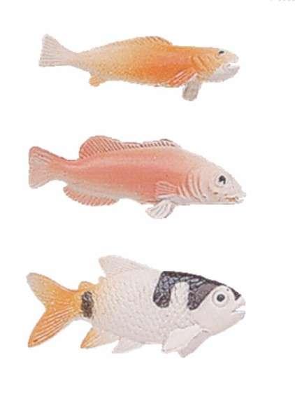 Fische, 6 Stück