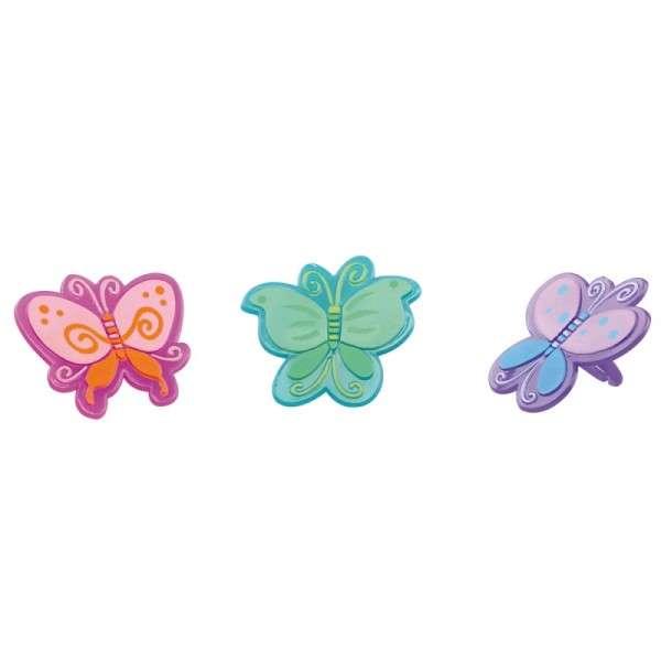 Muffindekoration Schmetterlingring
