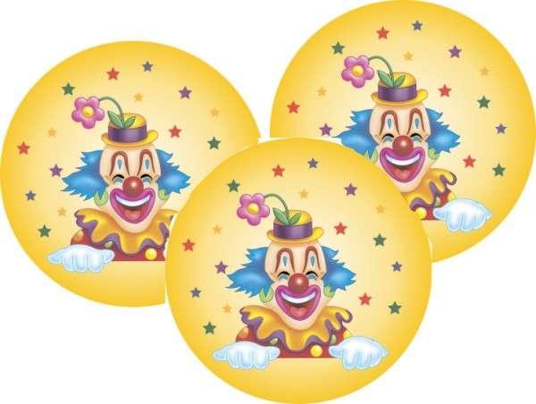 Zuckeraufleger Clown 40mm 12 Stck