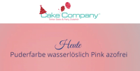Puderfarbe Pink, 3g, wasser- und fettlöslich, azofrei