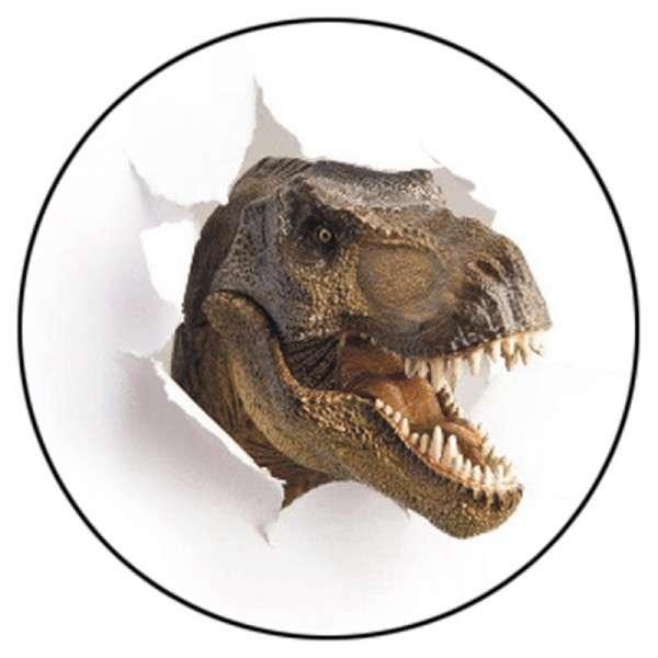 Tortenaufleger Dinos realistisch braun