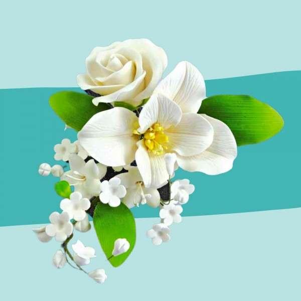 Zuckerblumenbouquet Lilie Vorschaubild
