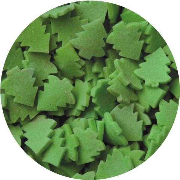 Zuckerkonfetti Weihnachtsbaum ca.9mm 80g