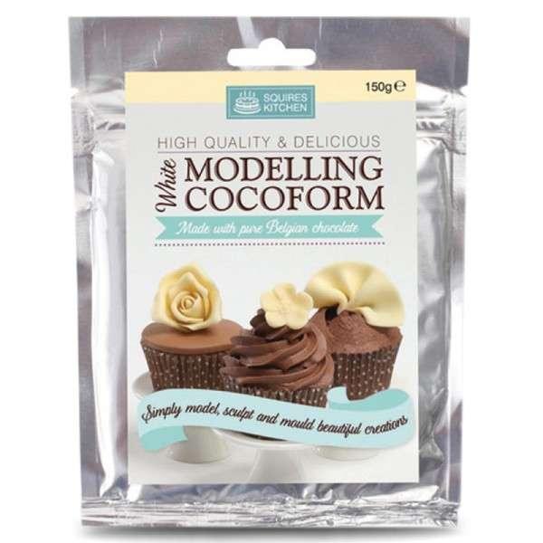 Modellierschokolade - Masse mit weißer Schokolade, 150g (Squires Kitchen)