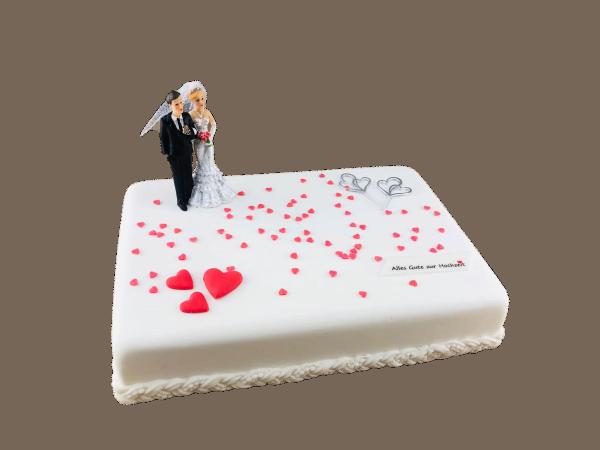 Motivtorte Hochzeit