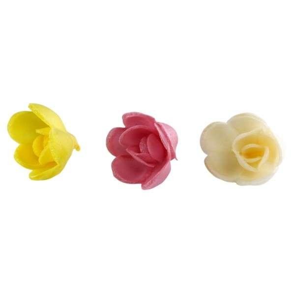 Esspapier Rose klein 30mm 12Stck aromatisiert exotic