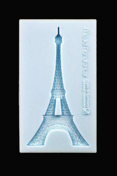 Silikonform Eiffelturm