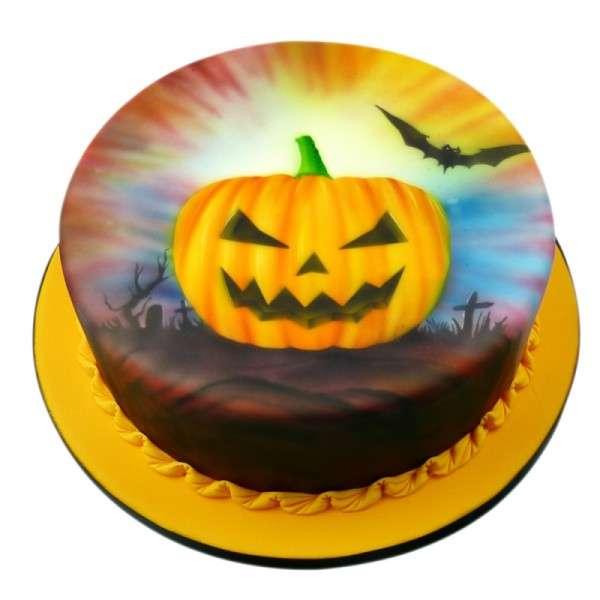 """Set Airbrush Schablonen """"Halloween Kürbis"""""""