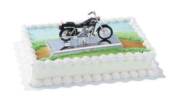 Tortendeko Harley Davidson