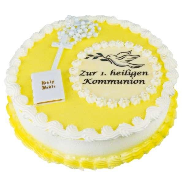 Dekoset Torte Kommunion