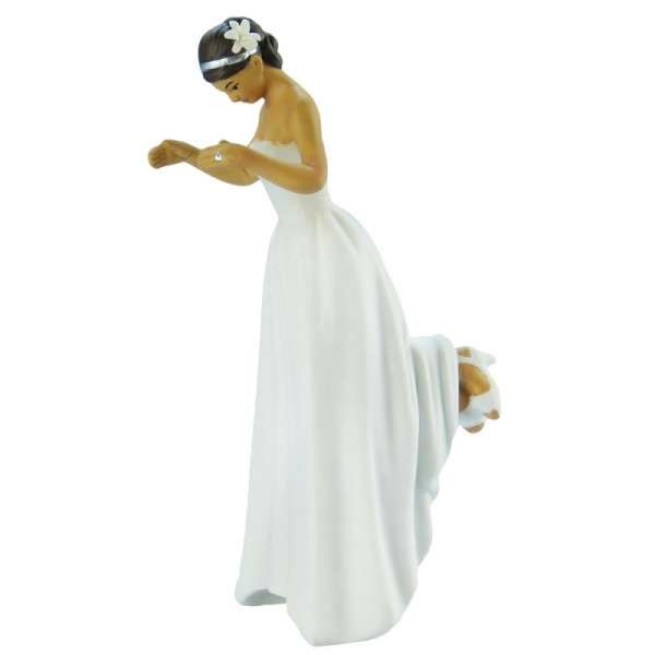 Hochzeitsfiguren Braut dunkelharrig