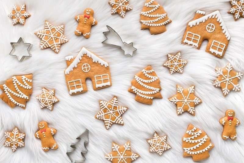 Ausstechformen Weihnachten - für Kekse, Plätzchen und Torten