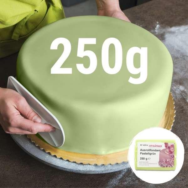 Farbiger Fondant pastellgrün 250 g