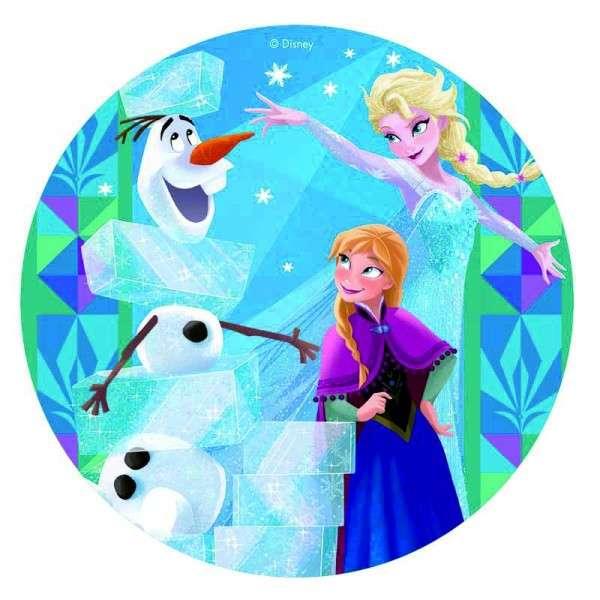 Esspapieraufleger Frozen