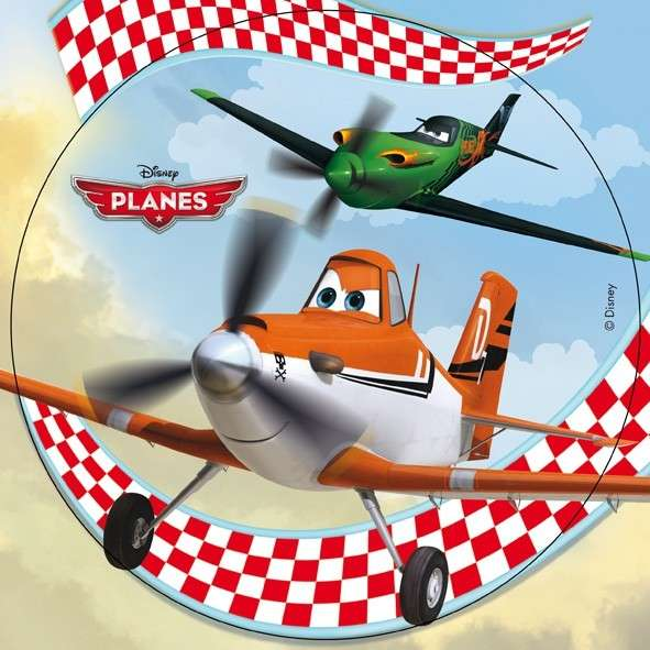 """Planes """"Dusty und Ripslinger"""" 20cm 1 Stück Esspapieraufleger"""