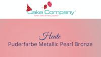 Puderfarbe Metallic Pearl bronze 25 gr