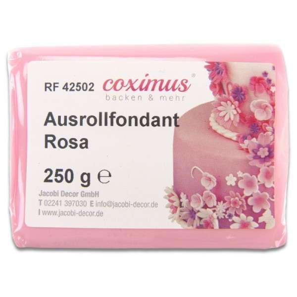Farbiger Fondant rosa 250g