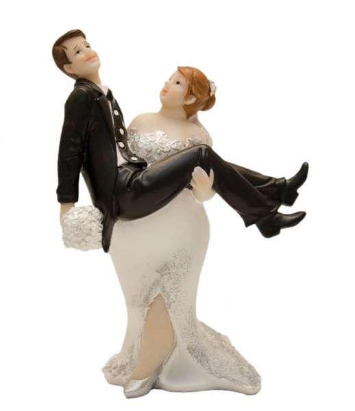 """Brautpaar mollig """"Sie trägt ihn"""""""